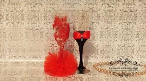 Pahare de nunta Handmade Wedding Glasses